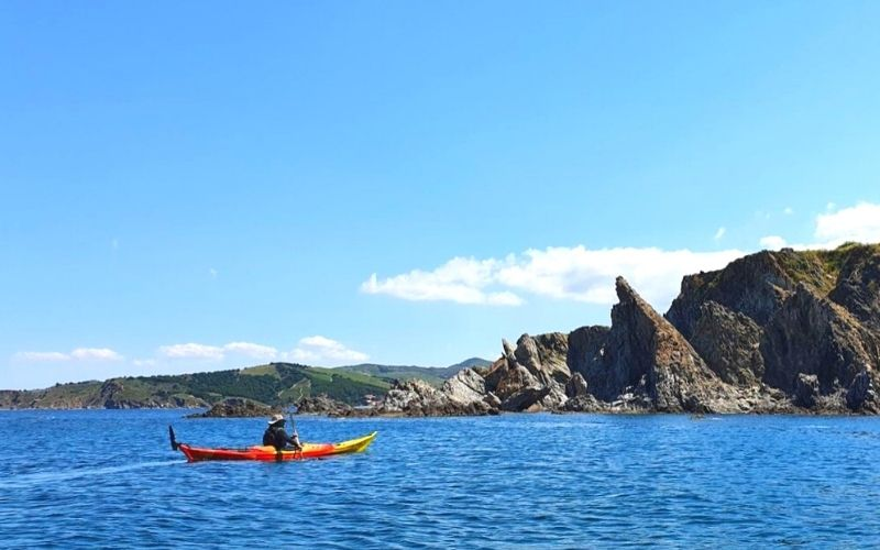 kayak de mer côte Vermeille 66